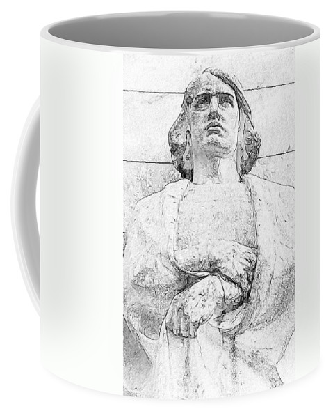 Man Coffee Mug featuring the photograph Clenched Hands by Alice Gipson