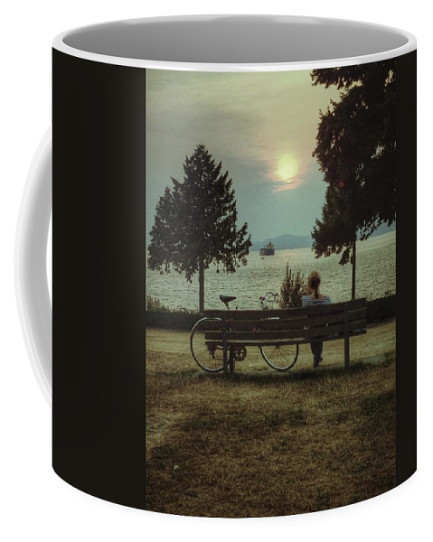 Street Coffee Mug featuring the photograph Climb Mountains Swam Seas by The Artist Project
