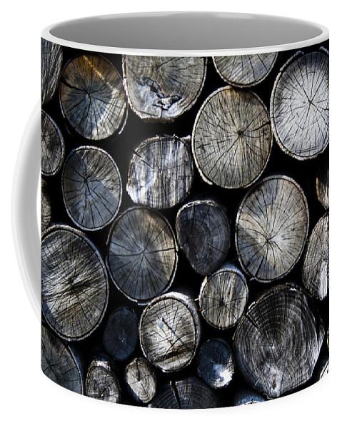 Logs Coffee Mug featuring the photograph Clogs by Gavin Bates