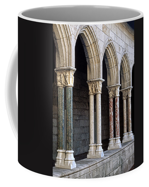 Cloisters Coffee Mug featuring the photograph Cloisters by Dave Mills