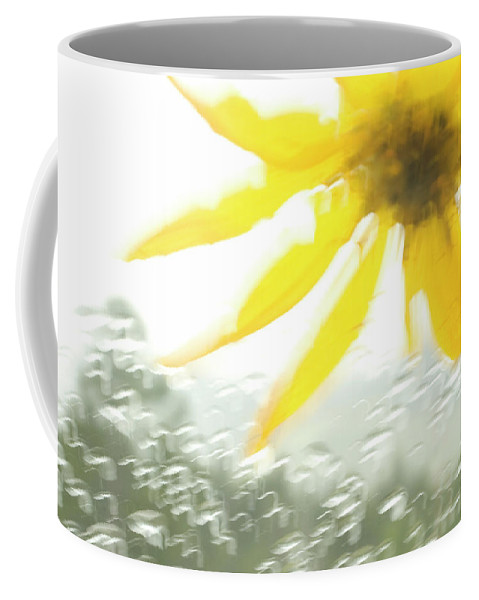 Freshness Coffee Mug featuring the photograph Close-up Of Yellow Wildflower In Grand by Phil Schermeister