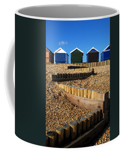 Closed For The Winter Coffee Mug featuring the photograph Closed For The Winter by Wendy Wilton