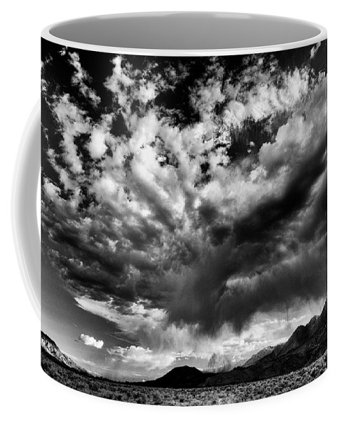 Clouds Coffee Mug featuring the photograph Cloud Explosion by Cat Connor