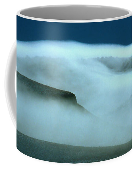 Mountains Coffee Mug featuring the photograph Cloud Mountain by Ed Riche