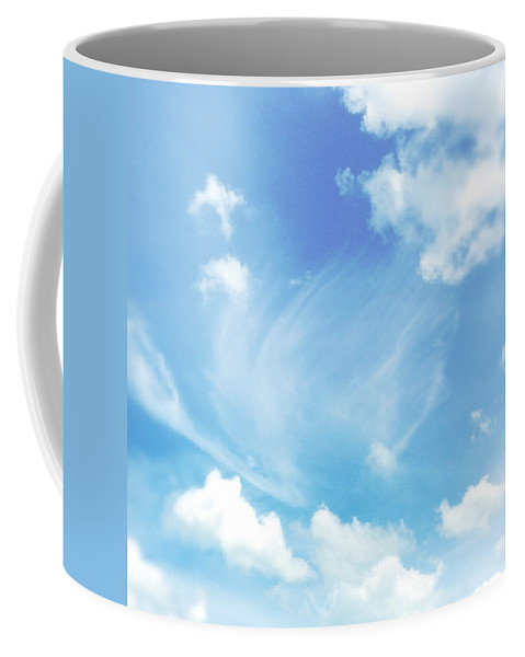 Cloud Coffee Mug featuring the photograph Cloud Shapes by Les Cunliffe