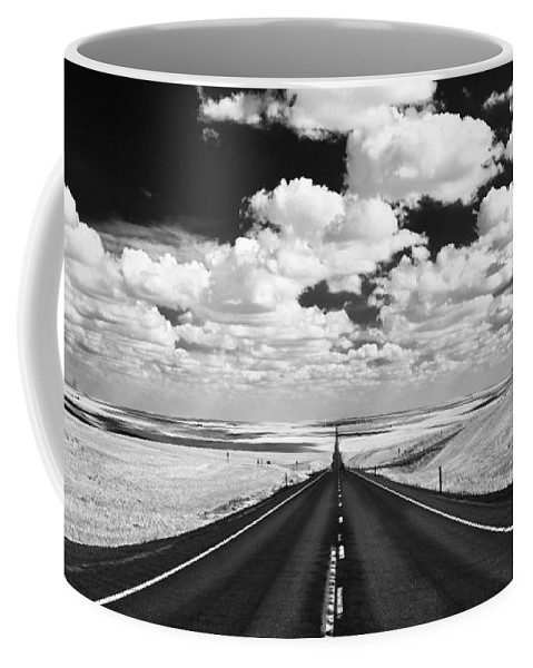 Usa Coffee Mug featuring the photograph Clouds On Top by Henk Meijer Photography