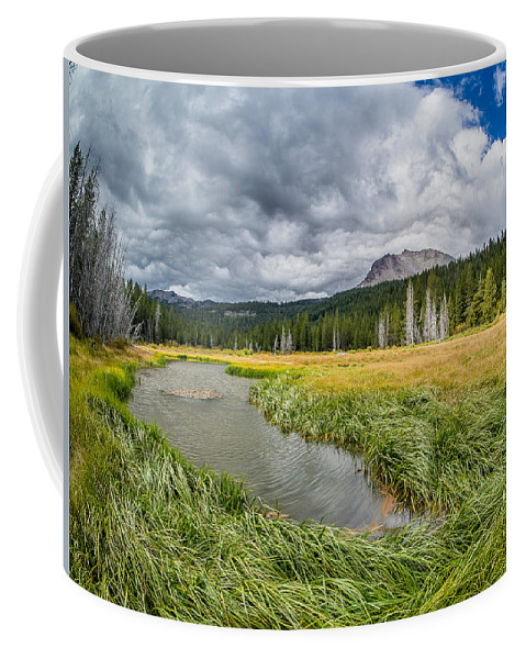California Coffee Mug featuring the photograph Clouds Over Hat Lake by Greg Nyquist