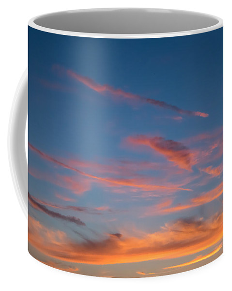 Clouds Coffee Mug featuring the photograph Clouds Vi by Robert VanDerWal