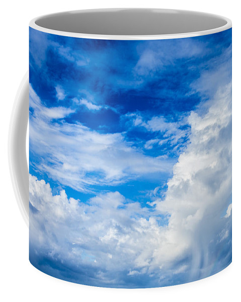Beautiful Coffee Mug featuring the photograph Cloudscape 1 by Leigh Anne Meeks