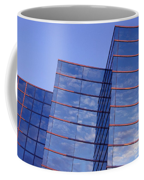 Windows Coffee Mug featuring the photograph Cloudscape In Reverse by Ann Horn