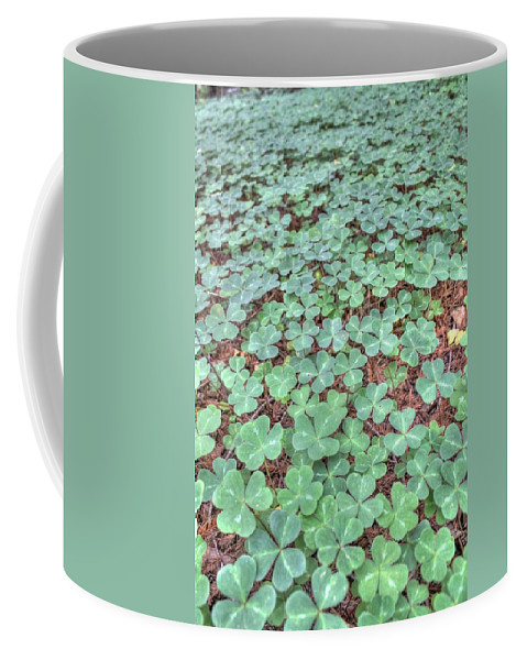 Clover Coffee Mug featuring the photograph Clover by Jane Linders