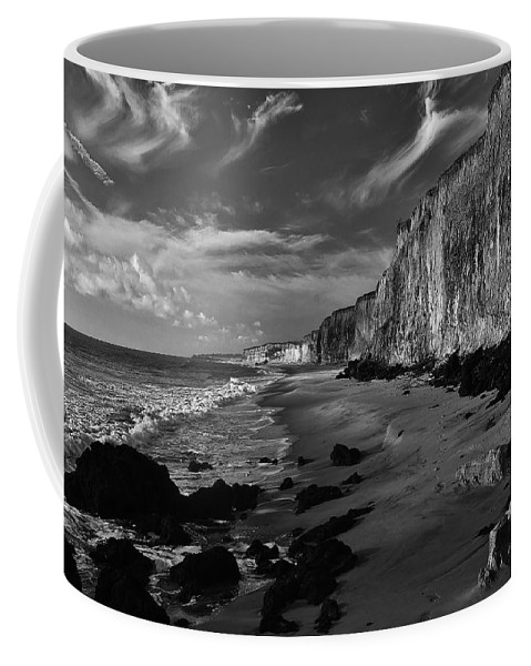 Bay Coffee Mug featuring the photograph Coast 18 by Ingrid Smith-Johnsen