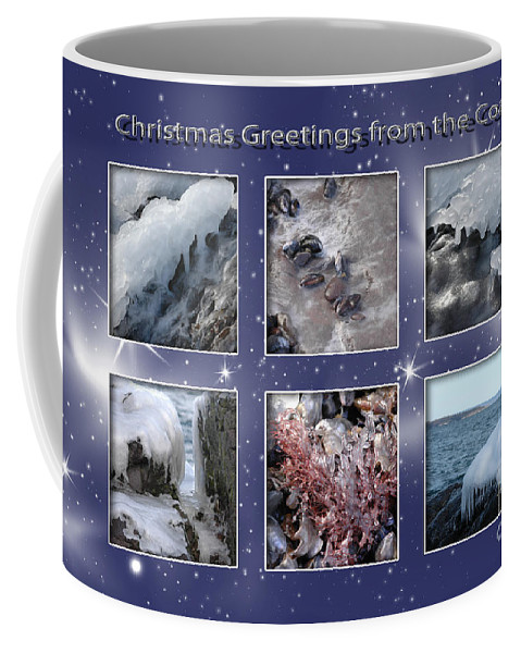 Christmas_tree Coffee Mug featuring the photograph Coastal Christmas by Randi Grace Nilsberg