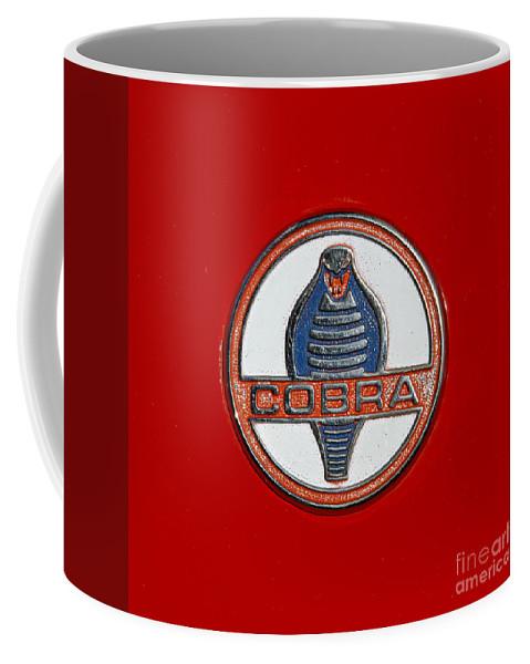 Classic Coffee Mug featuring the photograph Cobra Emblem by Dennis Hedberg