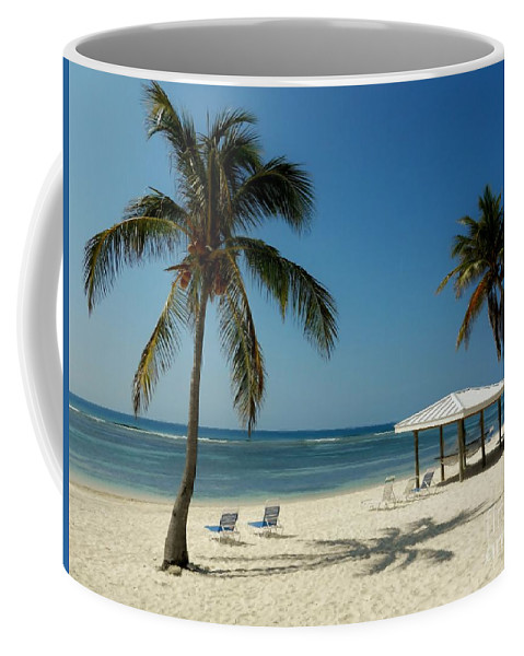 Color Coffee Mug featuring the photograph Coconut Beach by Amar Sheow