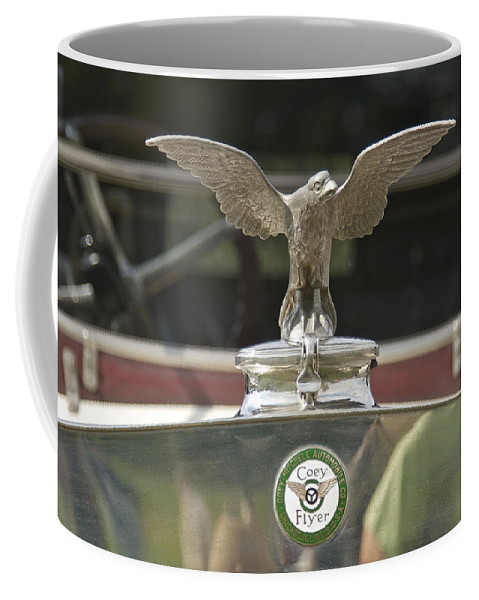 Coey Coffee Mug featuring the photograph Coey Flyer by Jack R Perry