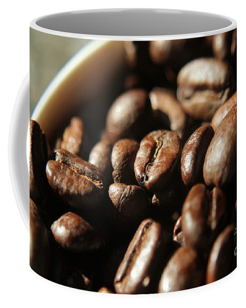 Coffee Coffee Mug featuring the photograph Coffee Beans by Kenny Glotfelty