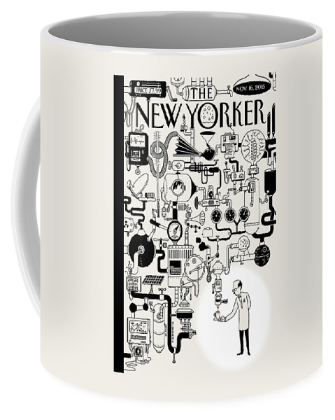 Coffee Coffee Mug featuring the painting Coffee Break by Christoph Niemann