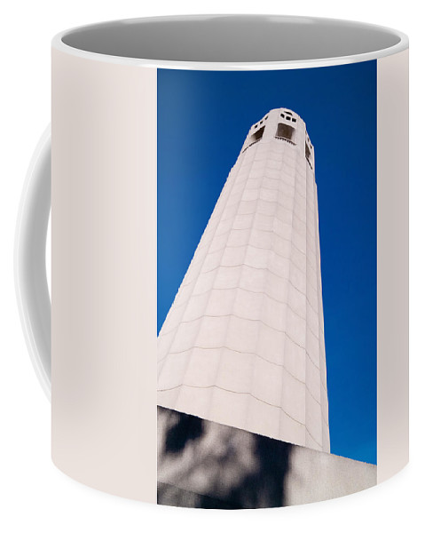 Coit Tower Coffee Mug featuring the photograph Coit Tower San Francisco by David Smith