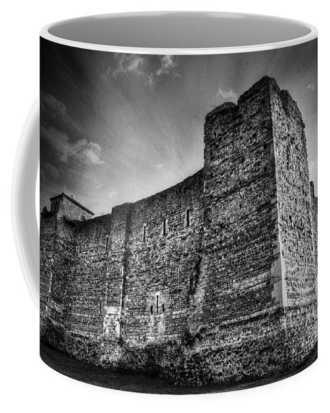 Abbey Coffee Mug featuring the photograph Colchester Castle by Svetlana Sewell