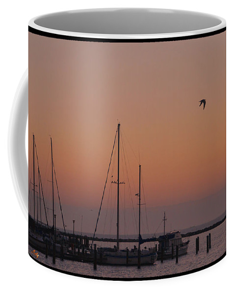 Clouds Coffee Mug featuring the photograph Cold Morning by Leticia Latocki