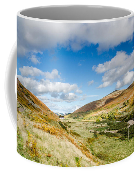 Northumberland Coffee Mug featuring the photograph College Valley by David Head