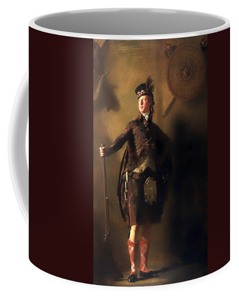 Painting Coffee Mug featuring the painting Colonel Macdonnel Of Glengarry by Mountain Dreams