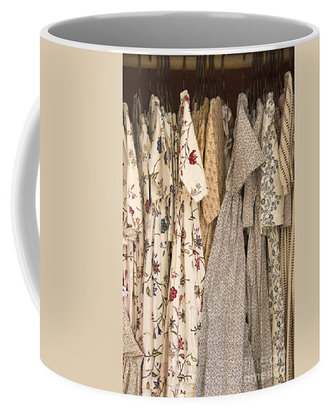 Dress Coffee Mug featuring the photograph Colonial Closet by Margie Hurwich