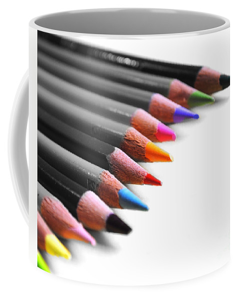 Color Coffee Mug featuring the photograph Color by Jai Johnson