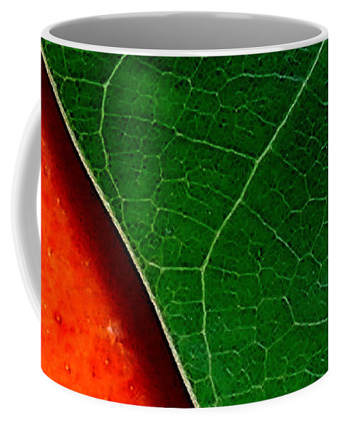 Mango Coffee Mug featuring the photograph Color Me Mango Sweet And Spicy by James Temple