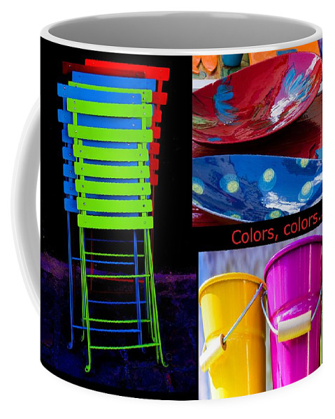 Colors Coffee Mug featuring the photograph Color Your Life 1 by Dany Lison