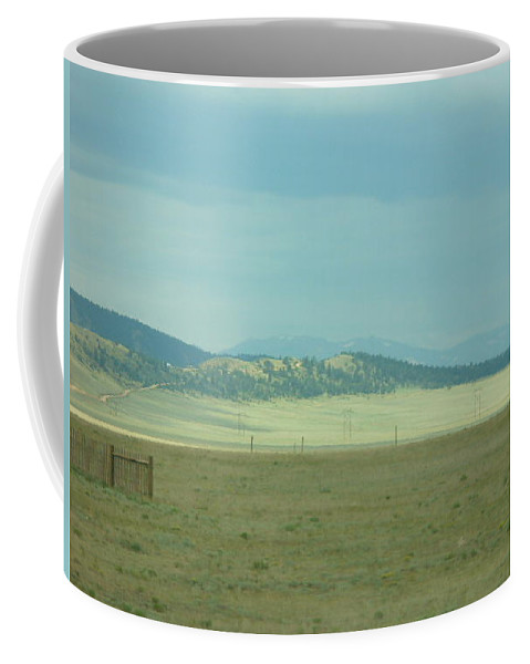 Lyle Coffee Mug featuring the painting Colorado - Landscape by Lord Frederick Lyle Morris