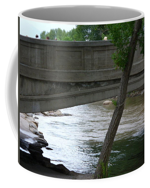 Lyle Coffee Mug featuring the painting Colorado Bridge by Lord Frederick Lyle Morris
