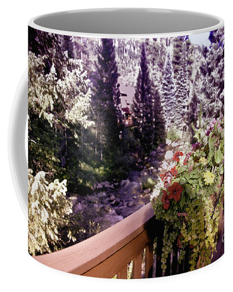 Vail Coffee Mug featuring the photograph Colorado Landscape by Madeline Ellis