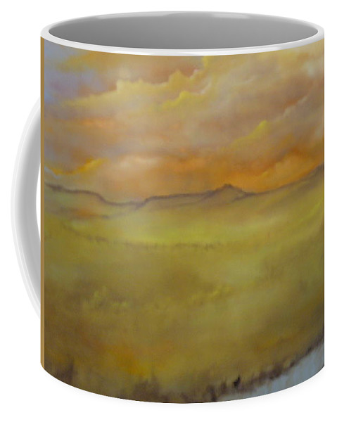 Von Thrauthemburg Coffee Mug featuring the painting Colorado Summer by Lord Frederick Lyle Morris - Disabled Veteran