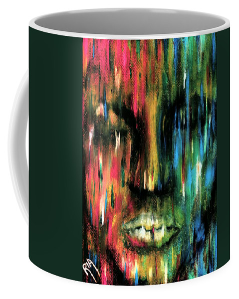 Colorful Coffee Mug featuring the photograph ColorBlind by Artist RiA