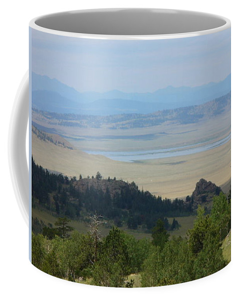 Lyle Coffee Mug featuring the painting Colordo Dreaam by Lord Frederick Lyle Morris