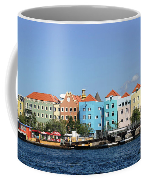 Curacao Coffee Mug featuring the photograph Colorful Curacao by Living Color Photography Lorraine Lynch