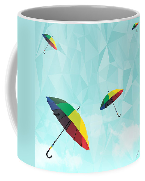 Contemporary Coffee Mug featuring the photograph Colorful Day by Mark Ashkenazi