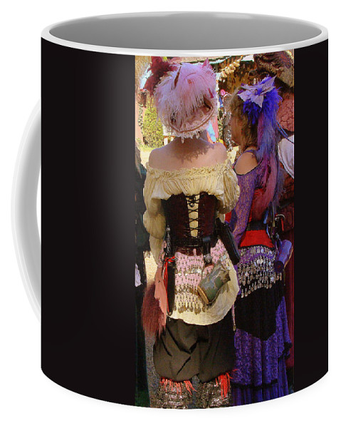 Fine Art Coffee Mug featuring the photograph Colorful Wenches by Rodney Lee Williams