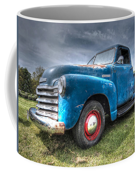 Colorful Workhorse - 1953 Chevy Truck Coffee Mug