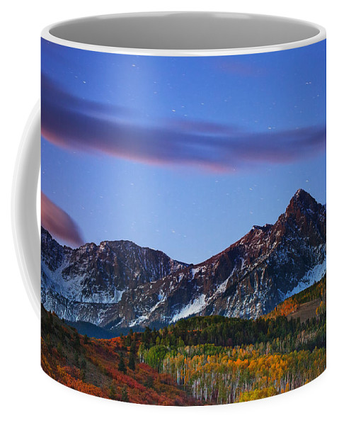 Night Coffee Mug featuring the photograph Colors Of The Night by Darren White