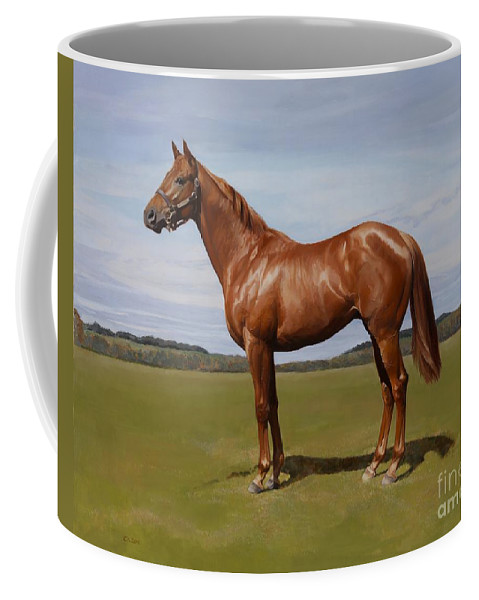 Colt Coffee Mug featuring the painting Colt by Emma Kennaway