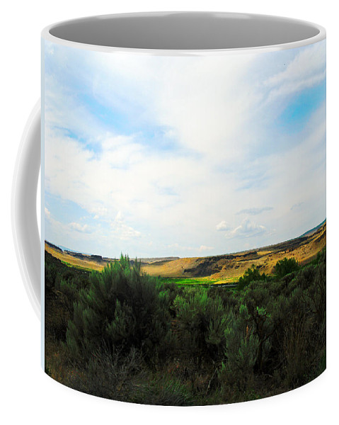 Photograph Coffee Mug featuring the photograph Columbia National Widlife Refuge by Kathy Moll