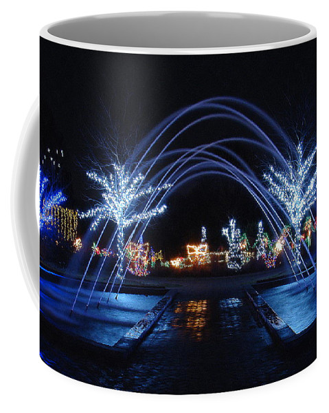 Fine Art Coffee Mug featuring the photograph Come On Through by Rodney Lee Williams