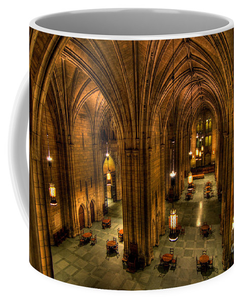 Allegheny County Coffee Mug featuring the photograph Commons Room Cathedral Of Learning University Of Pittsburgh by Amy Cicconi
