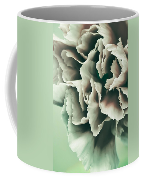 Red Coffee Mug featuring the photograph Complimentary by Elvira Pinkhas