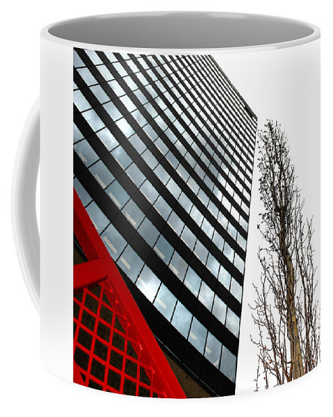 City Coffee Mug featuring the photograph Concrete Seeds by The Artist Project
