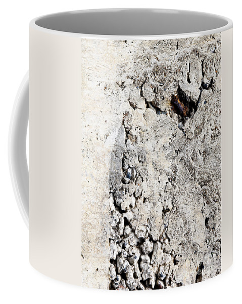 Concrete Wall Coffee Mug featuring the photograph Concrete Texture by Tim Hester