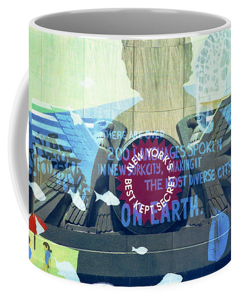 Brooklyn Coffee Mug featuring the photograph Coney Island Angel by Rosie McCobb